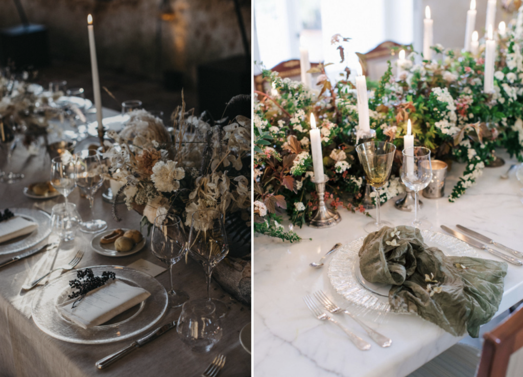 create a wedding atmosphere