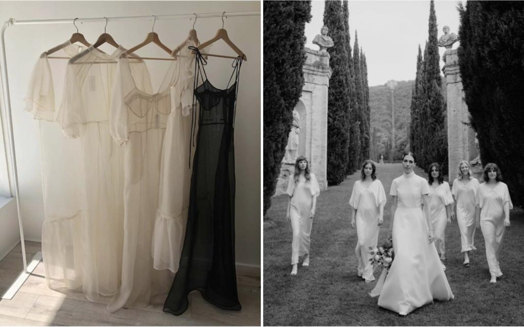 create a wedding atmosphere - dress code