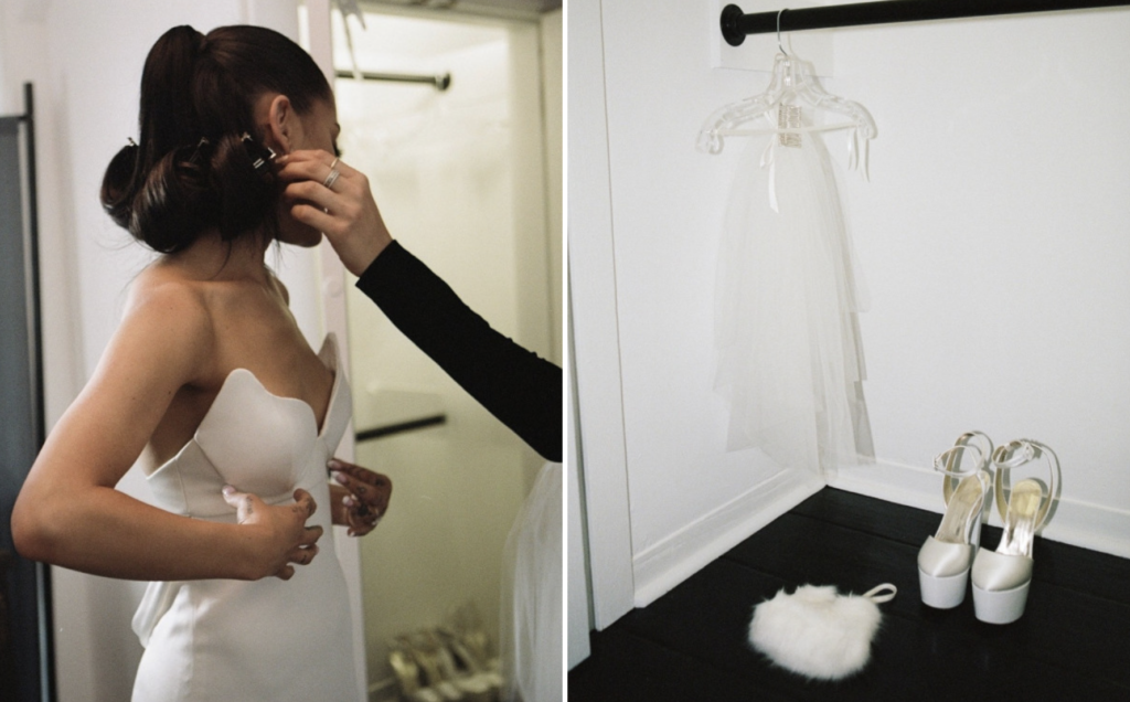 micro wedding Ariana Grande